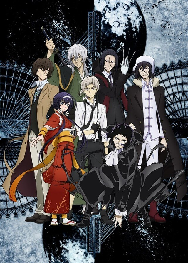 Live-action Bungo Stray Dogs film announced by stage adaptation cast