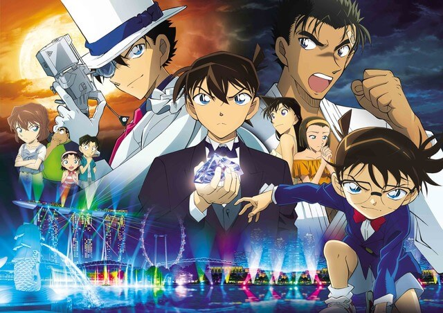 10 Scenes from Detective Conan's new movie, that says they are in