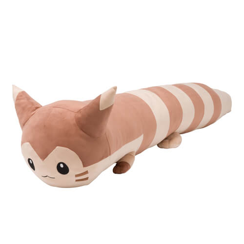 Life-size plushie of Gen-2 Pokemon Furret is HUGE