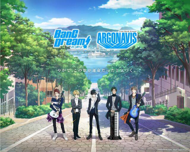 BanG Dream's first all-male band Argonavis teases first music video in anime short