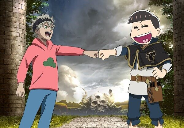 Mr. Osomatsu's Sextuplets are 'appearing' in Black Clover episode 76