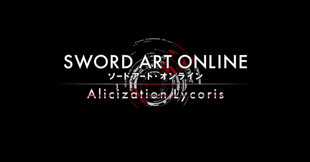 Sword Art Online Alicization Lycoris Announced!