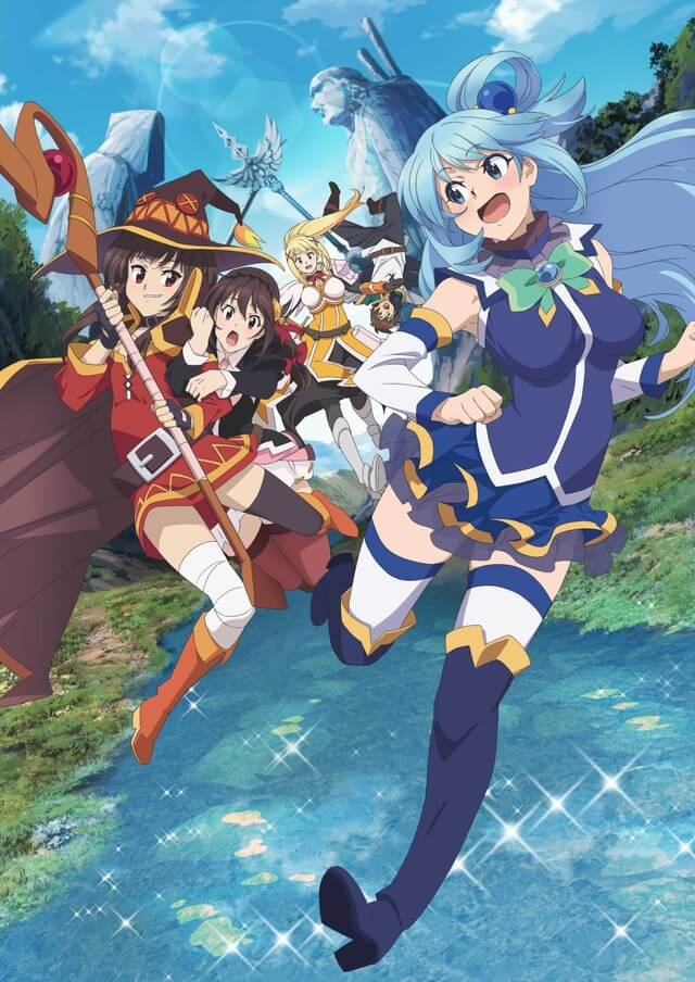 KonoSuba Crimson Legend film unveils new trailer