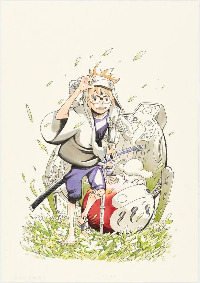 Jump to preview Masashi Kishimoto's new manga, Samurai 8, before its debut