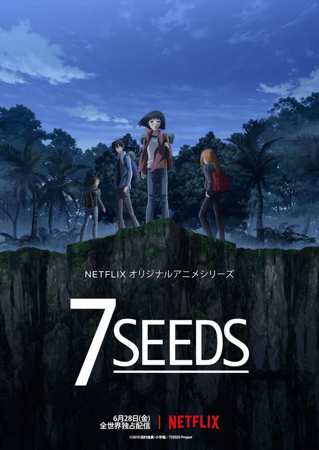 Netflix's 7SEEDS anime announces worldwide streaming and global release date