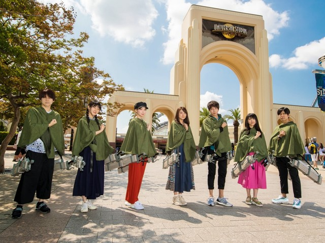 Attack on Titan Cast visit Universal Studios Japan, check out AOT attractions