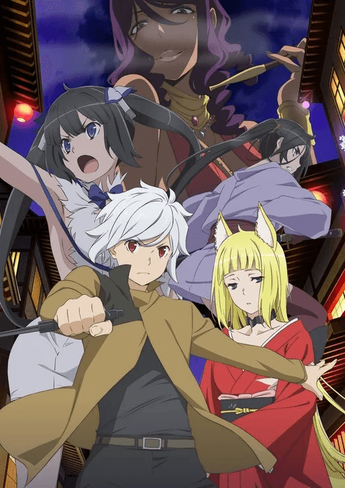 Danmachi Season 2 reveals release date and key visual