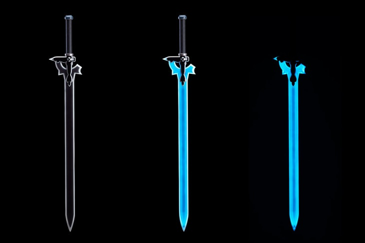 Good Smile Company and Cerevo team up for life-size Elucidator sword from Swaord Art Online
