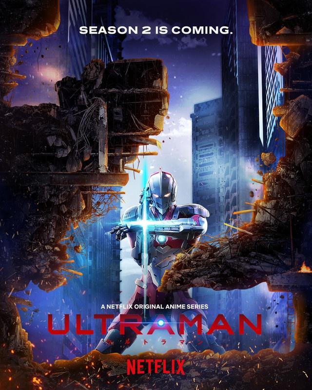 Netflix's Ultraman anime renewed for a second season