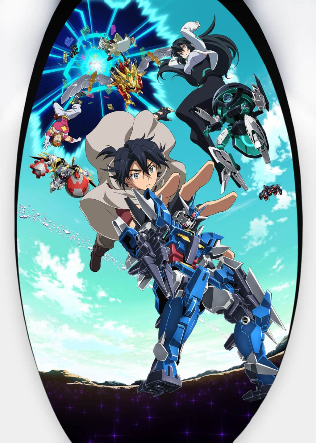 Gundam Build Diver Re:RISE Officially unveiled, airs October.