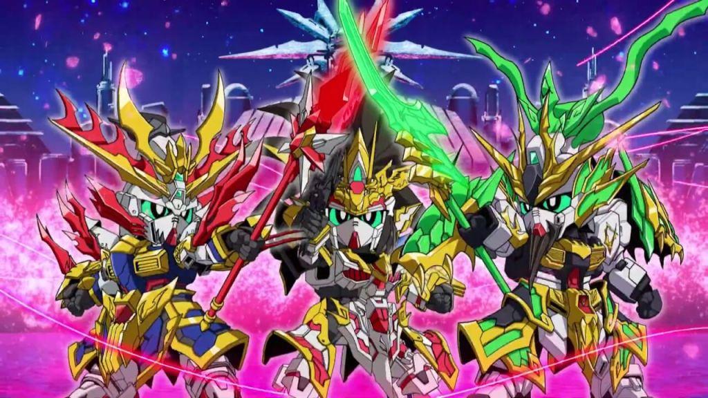 Gundam.info now streaming SD GUNDAM WORLD SANGOKU SOKETSUDEN's 1st episode on YouTube