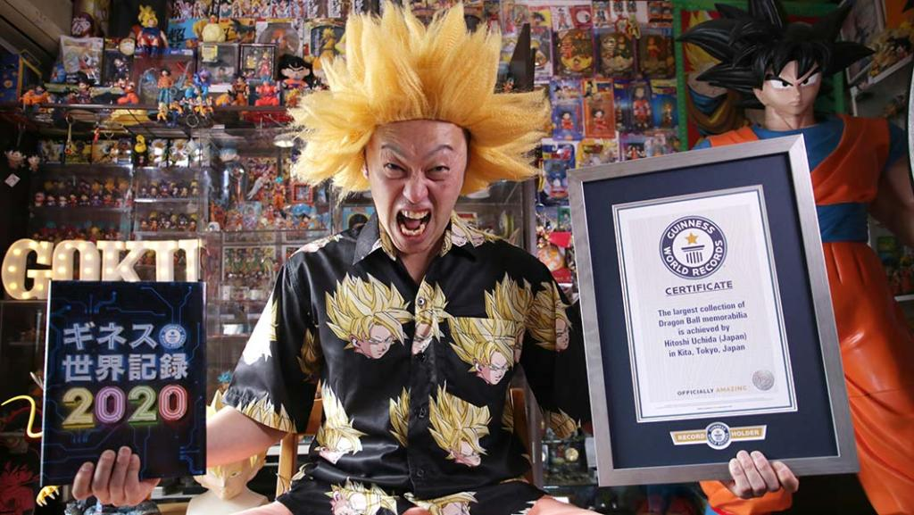 Japanese man sets Guinness World Record for largest Dragon Ball collection
