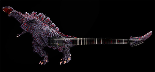 THE ALFEE frontman's Godzilla Guitar gets replica versions