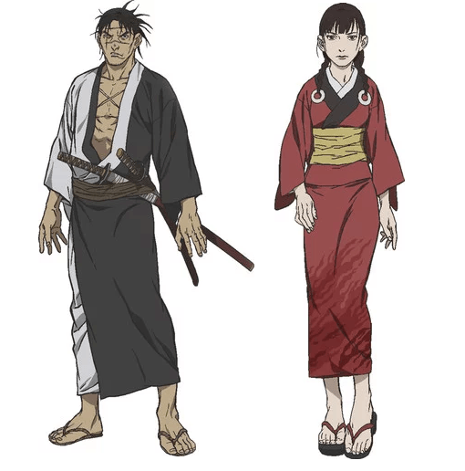 New Blade of the Immortal anime adaptation reveals cast and character visuals