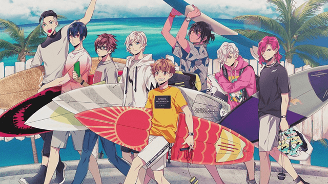 Time to Hang Ten with new Surfing anime and mixed media project, Wave!!