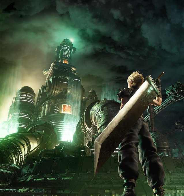 Final Fantasy VII Remake recreates classic game's cover