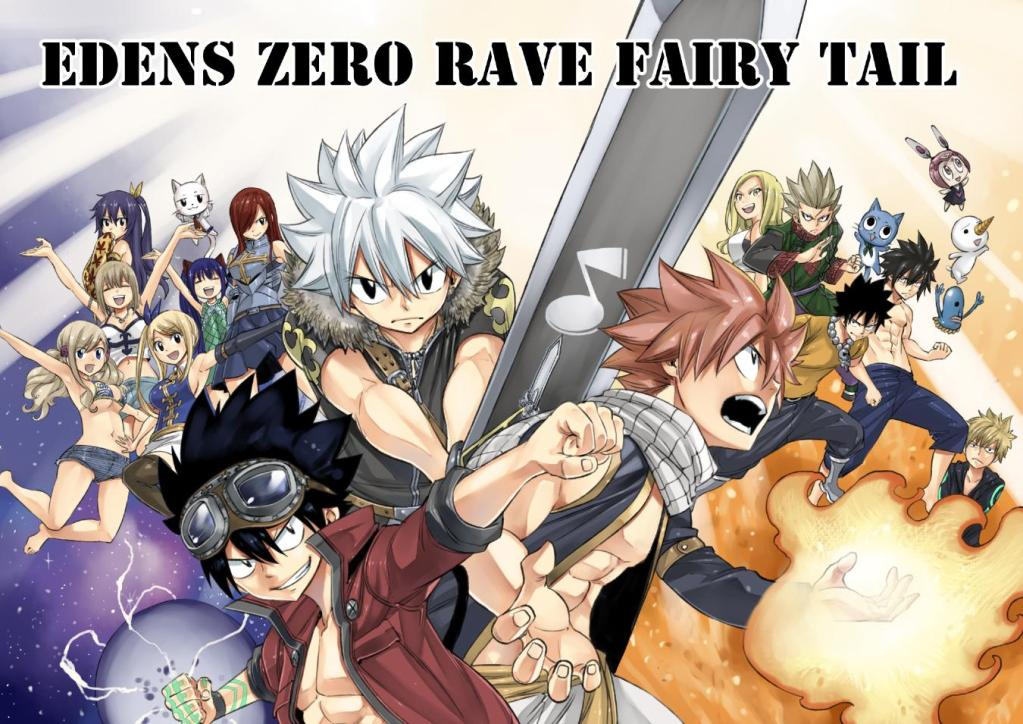 Hiro Mashima's 3 big franchises are getting a crossover manga series