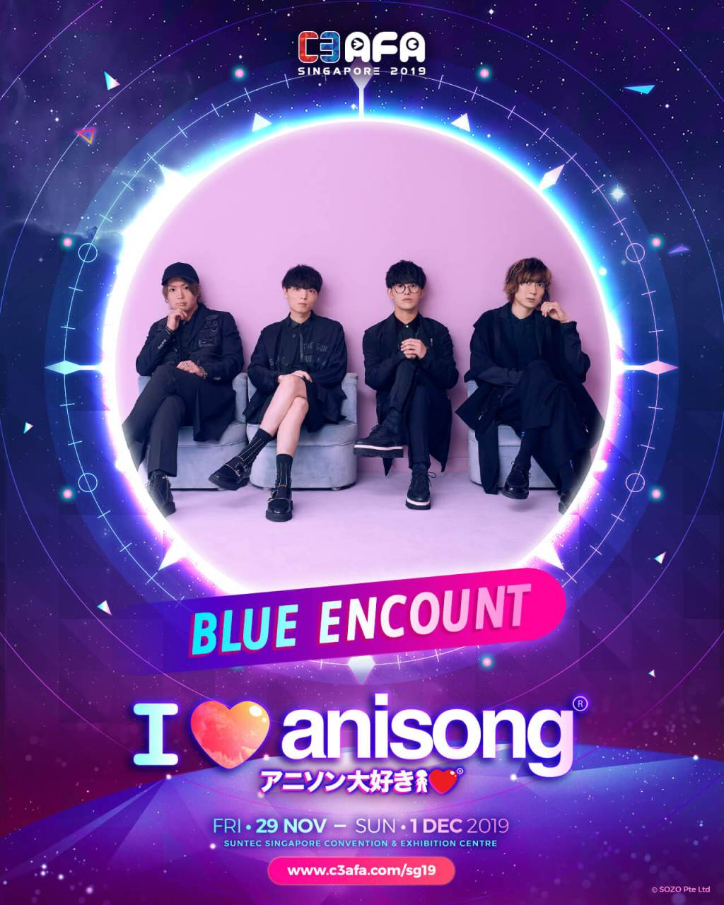[SO JAPAN x C3AFA Singapore] An Exclusive Q&A with BLUE ENCOUNT
