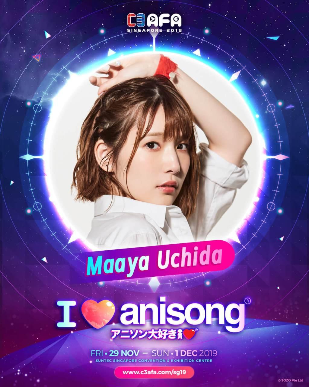 [SO JAPAN x C3AFA Singapore] An Exclusive Q&A with Maaya Uchida
