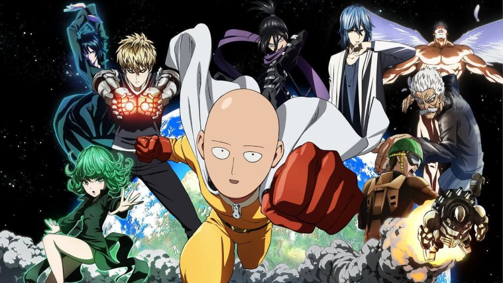 The first 80 seconds of One Punch Man's latest OVA released in new video