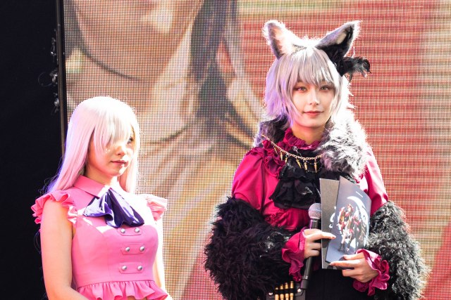 Japan's #1 cosplayer, Enako, stands out during a Halloween cosplay event in Tokyo