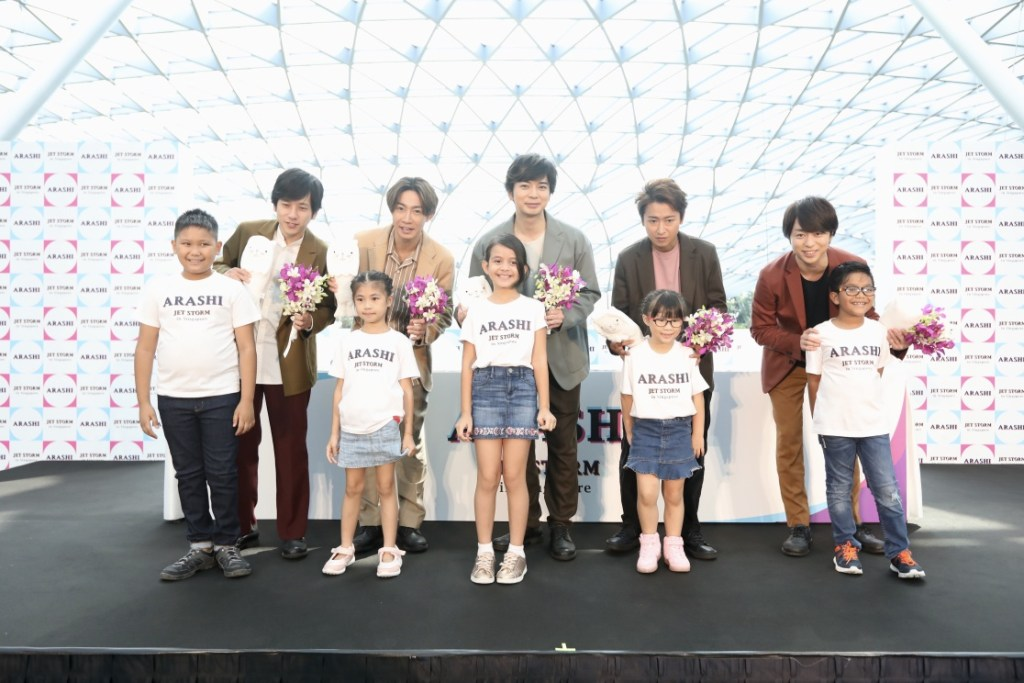 ARASHI's Whirlwind 4-City Press Tour JET STORM a Success!