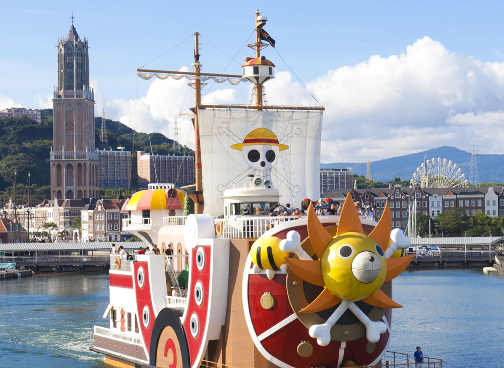 Thousand Sunny ship from One Piece returns to Nagasaki after almost 5 years