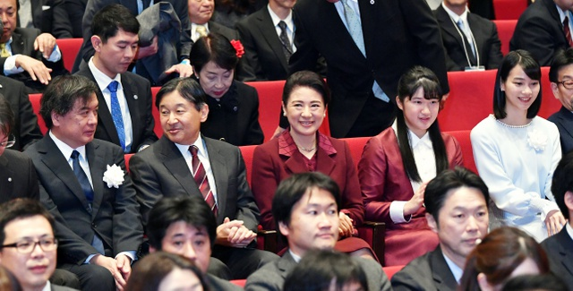 Japan's new Emperor and Empress attended a charity screening of In This Corner Of The World
