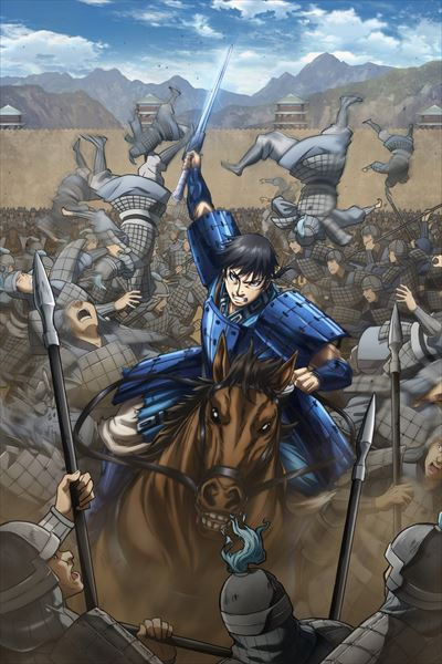 Kingdom TV anime's 3rd season reveals key visual and main staff
