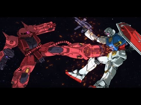 Mobile Suit Gundam's first battle scene from 1979 recreated for special 40th anniversary video