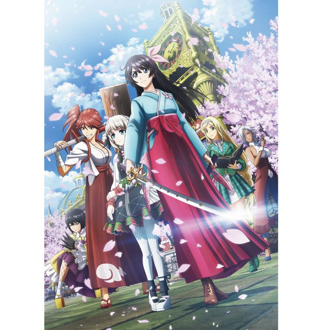 New Sakura Wars the Animation reveals first PV, new visual