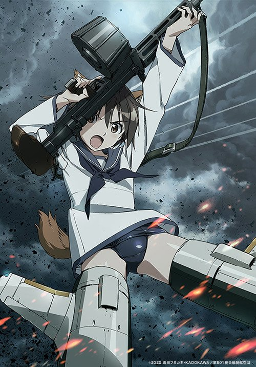 Strike Witches: Road to Berlin TV anime releases new PV and visual