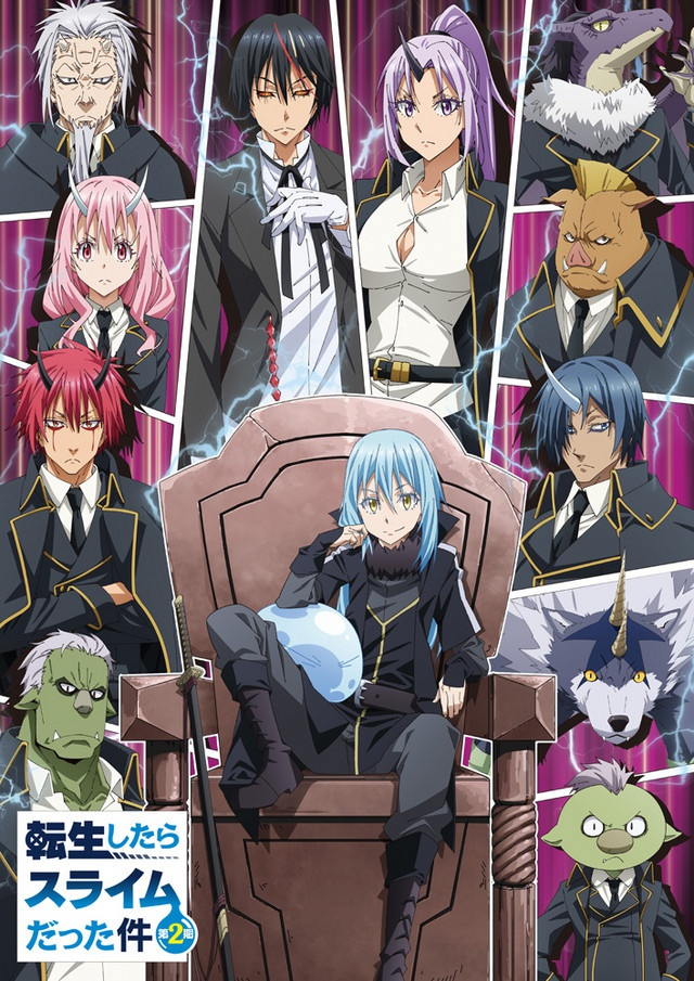 That Time I Got Reincarnated as a Slime S2 releases new key visual