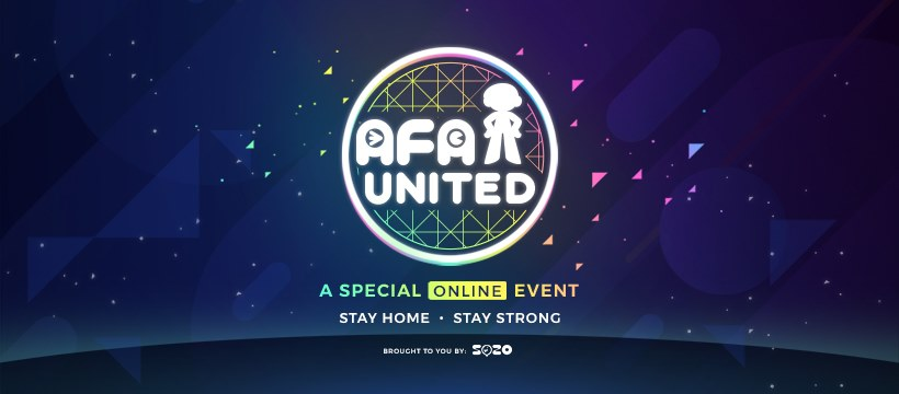 "Anime Festival Asia Hosts Special Online Event ""AFA UNITED"""