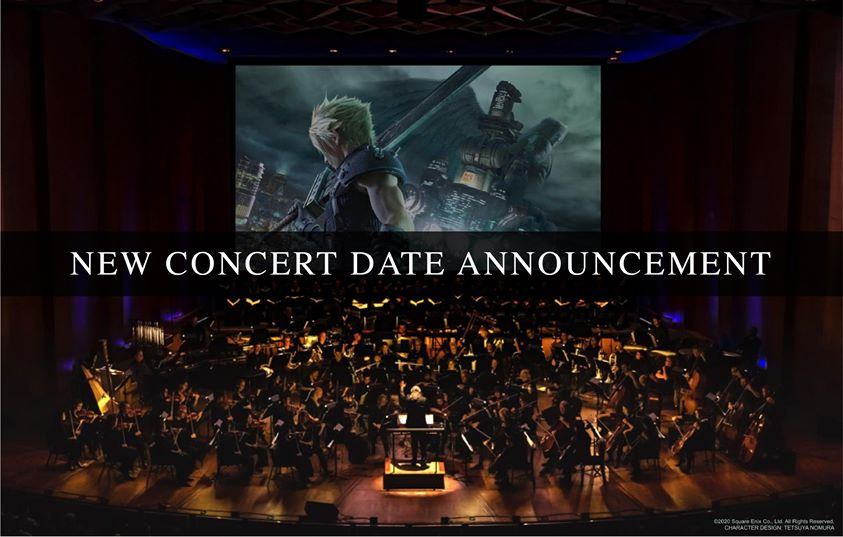 New Date for FINAL FANTASY VII REMAKE Orchestra World Tour in Singapore Announced!