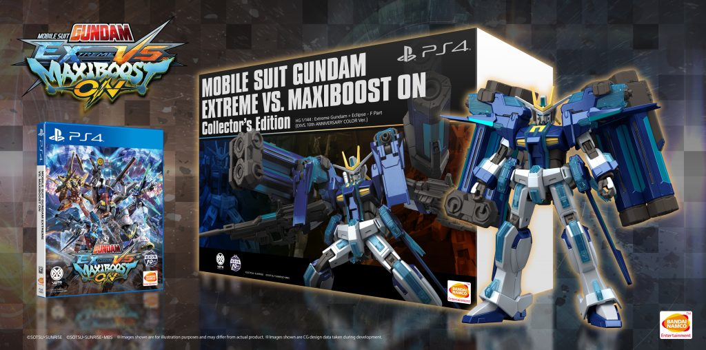 """MOBILE SUIT GUNDAM EXTREME VS. MAXIBOOST ON"" Collectors Edition Bundled with Exclusive Gunpla Model!"