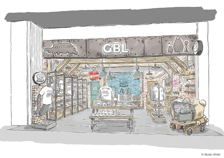 "Studio Ghibli Casual Apparel Brand ""GBL"" to Open First Permanent Store"