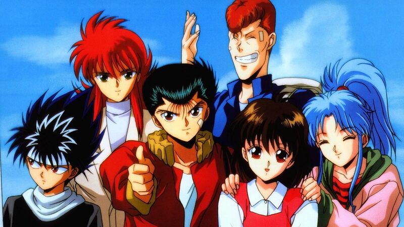"""YuYu Hakusho"" Out on NETFLIX 26th June!"