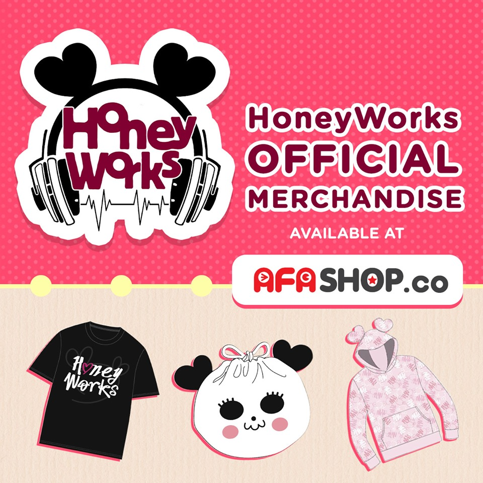 Grab Exclusive HONEYWORKS Merch — Available Internationally Only from AFASHOP.co!