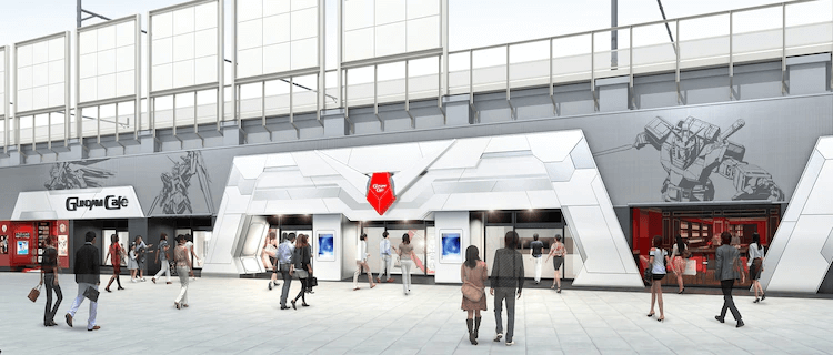 "A Bigger and Better ""GUNDAM Cafe TOKYO BRAND CORE"" Reopens in Akihabara"