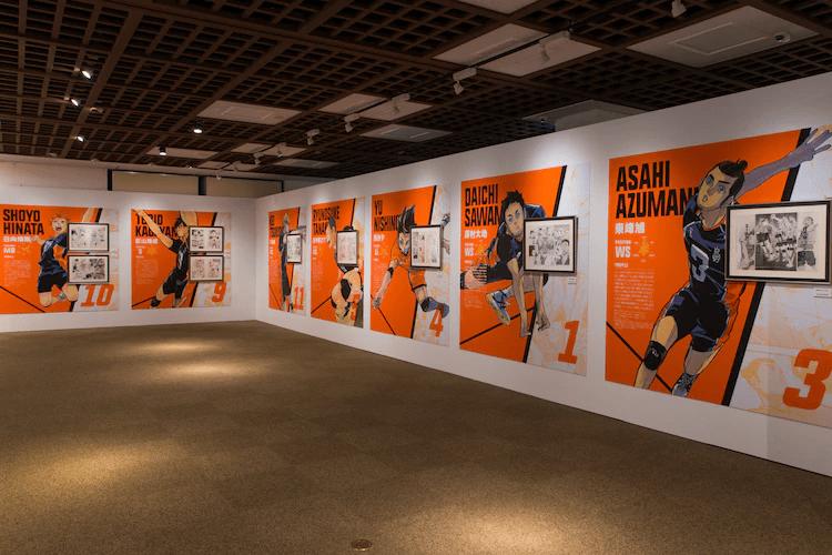"""Haikyuu!! Exhibition"" Opens in Miyagi Prefecture!"