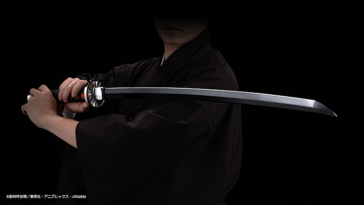 "BANDAI SPIRITS to Release 1:1 Replica of Tanjiro's Sword from ""Kimetsu No Yaiba"""