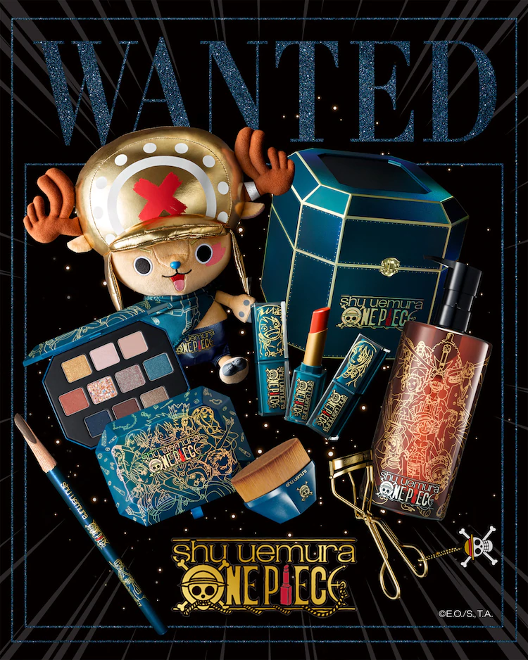 "Shu Uemura Launches ""ONE PIECE"" Collaboration Line!"