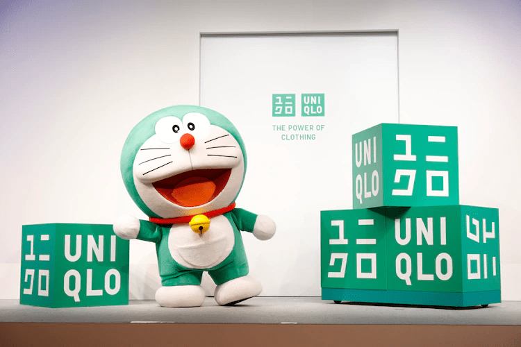 "DORAEMON Changes Colour from Blue to Green  as Appointed UNIQLO's ""Global Sustainability Ambassador"""