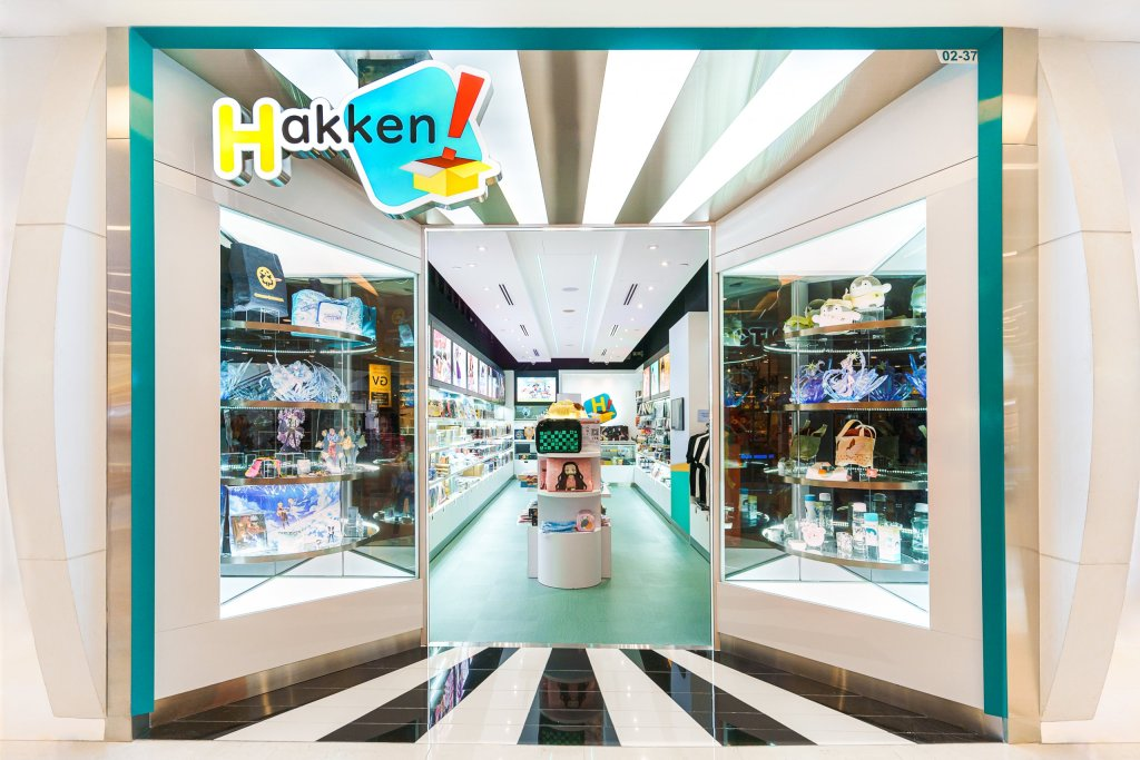 """Singapore's Largest Anime Retail Brand """"Hakken!"""" Officially Launches Second Outlet in VivoCity"""