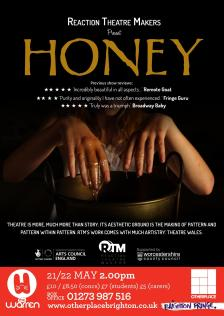 SoJo Designs Malvern Honey Poster Brighton Fringe