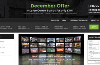 PBS Landing Page Malvern Worcestershire Website Design Digital Marketing