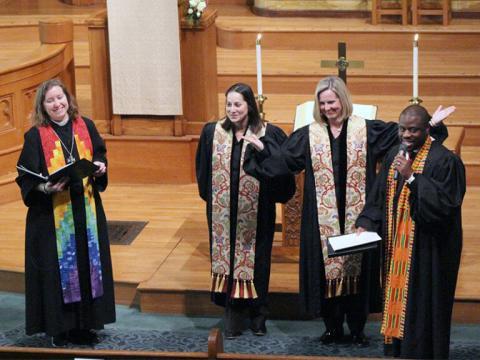 lesbian pastor