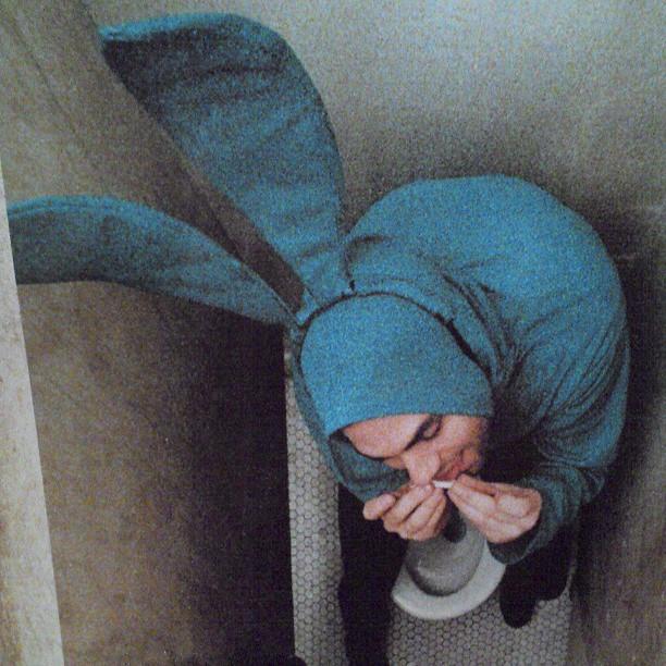 Blue Rabbit Shit - from Instagram