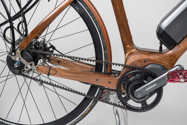 Sojourn Cyclery Wooden E-bike